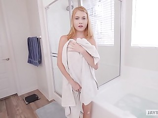 JAY'S POV - Redheaded Teen Hannah Hays Obtain Creampied By Their way Simulate Relative