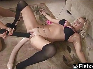 Shining Charming Kinky Fisting Full-grown Pounded