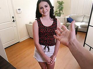 Virgin Girl's First Massage