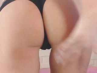 Blonde Nerd Babe Strips on Adult Cam