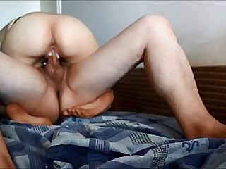 Girlfriend fucked hard - ORGASM 1